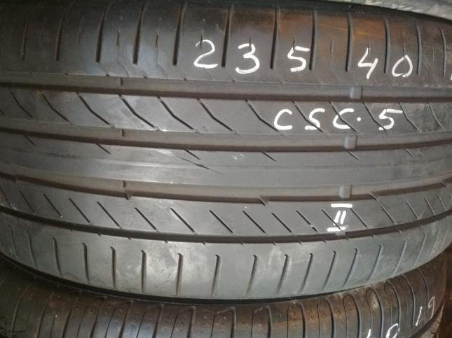 235 40 19 Continental ContiSportContact 5 (6mm)