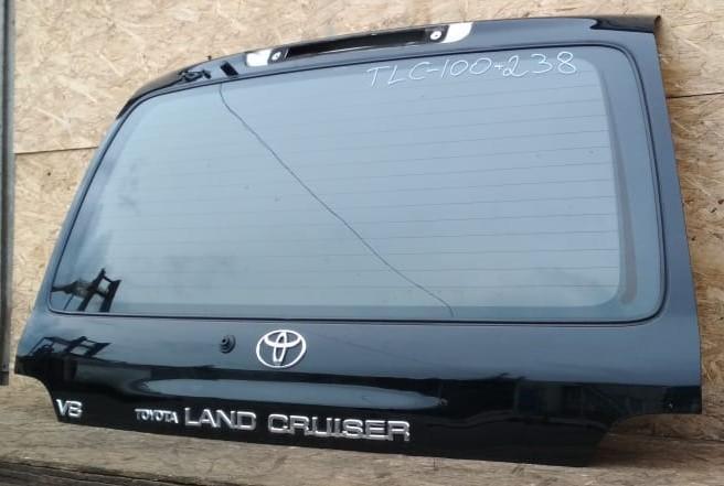 Крышка багажника Toyota Land Cruiser 100 черная