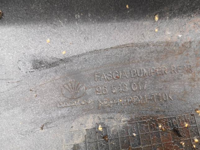 Бампер задний Chevrolet Aveo T200