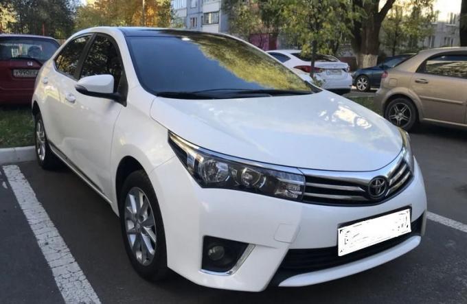 Toyota Corolla E18 Крыло правое 5380202190