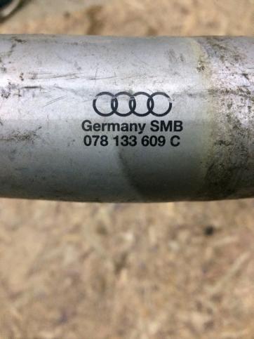 Патрубок интеркулера левый Audi A6 Allroad 078133609C