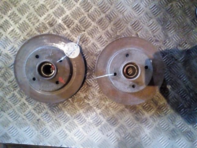 Диск тормозной задний Citroen Peugeot 424946
